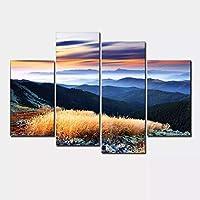 モジュラー絵画壁画風景青空家の装飾キャンバス壁の写真キャンバス上の現代絵画抽象30x60cm30x80cmフレームなし
