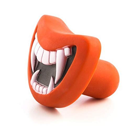 Eurowebb hondenspeelgoed met geluiden, rubber, mond, willekeurig model