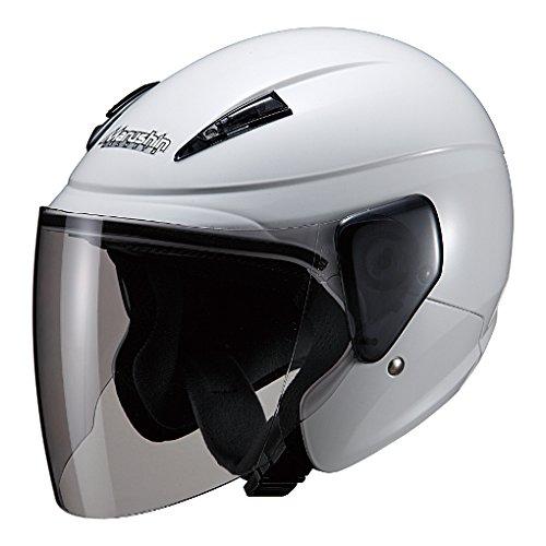 マルシン(MARUSHIN) バイクヘルメット セミジェット M-520XL ホワイト XLサイズ (61-62cm未満) 5211
