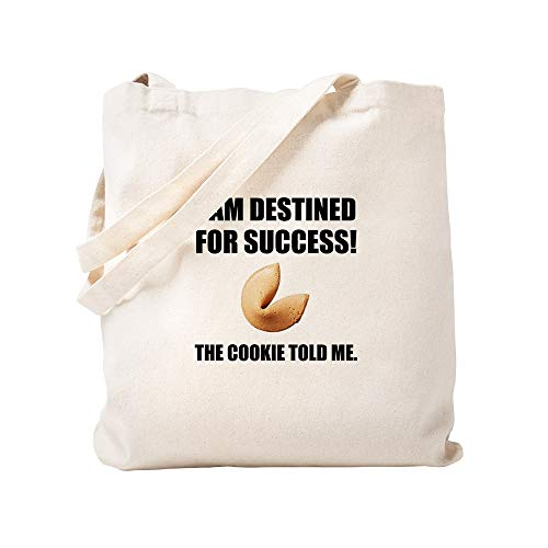CafePress Fortune Cookie Told Me Natural Canvas Tote Bag, Reusable Shopping Bag
