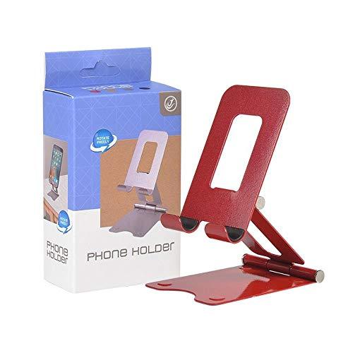 Mazu Homee soporte de escritorio plegable del soporte de la tableta del teléfono móvil del stent del metal, soporte ajustable ergonómico del ordenador portátil del alto ángulo