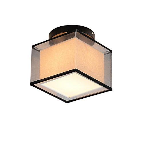 OYLYW Cuadrado Moderno Simple Lámpara de Techo Montaje Empotrado Luces para Entrada Pasillo Sala de Juegos Cocina Oficina Luminaría