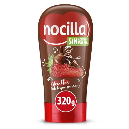 Nocilla Original Crema al Cacao con Avellanas, Bocabajo, sin Aceite de Palma 320g