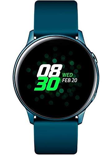 Samsung Galaxy Watch Active SM-R500 Smartwatch 40mm Alluminio - Verde, per Android e iOS [Versione internazionale]