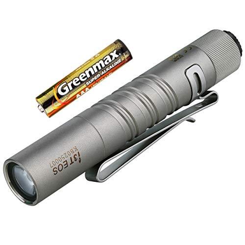 Olight I3T EOS LED Linterna Llavero,180 Lúmenes 2 Modos Antorcha Pequeña impermeable...