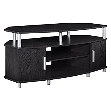 Ameriwood Home Carson Corner TV Stand for TVs up to 50 , Black