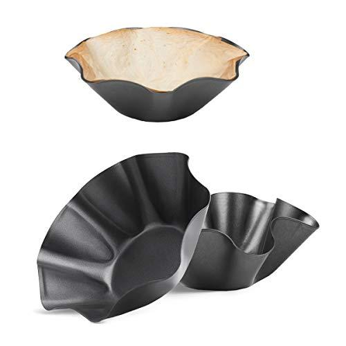 RUVINCE Tortilla Maker Large-Nonstick Taco Shell Maker Salad Bowl...