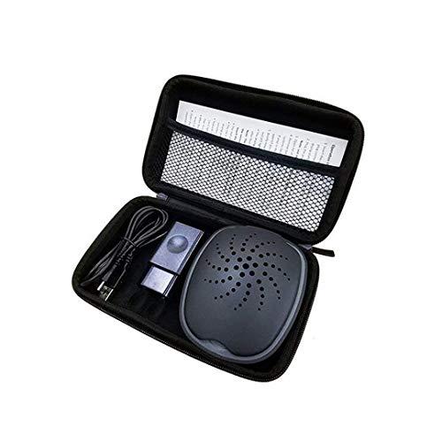 MFZTQ Automatischer Hörgerätetrockner UV-Sterilisationsdesinfektion,Portable Trockenbox