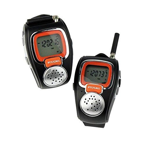 ToyPark Walkie Talkie, 2PCS Portable Digital Wrist Watch Two...