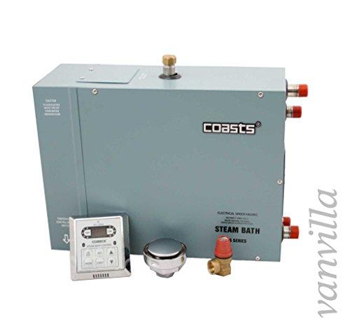 vanvilla COASTS Dampfgenerator, Dampferzeuger, Dampfdusche, 9KW / 380V