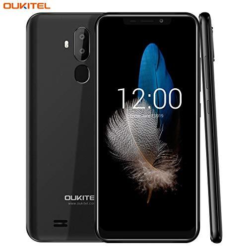 OUKITEL C12 Unlocked Smartphone Android 8.1 Unlocked Cell Phones,6.18' 19:9 Full-Screen Display ,8MP+2MP Cameras, 3G Android Phones Unlocked, Dual SIM Smartphone 2GB+16GB Fingerprint & Face Unlock