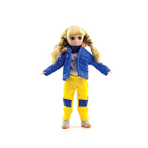Lottie Snow Doll Dolls Snow Day | Puppen für Mädchen und Jungen | Snow Toys | Puppen für 5 6 7 Jahre LLD Mädchen und Jungen, LT126