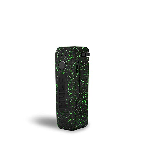 The WULF UNI concentrate container w/heating capabilities (Black/Green Splatter)