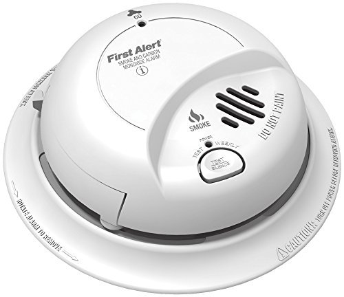 First Alert BRK SC9120B Hardwired Smoke and Carbon Monoxide (CO) Detector with Battery Backup 1 Pack