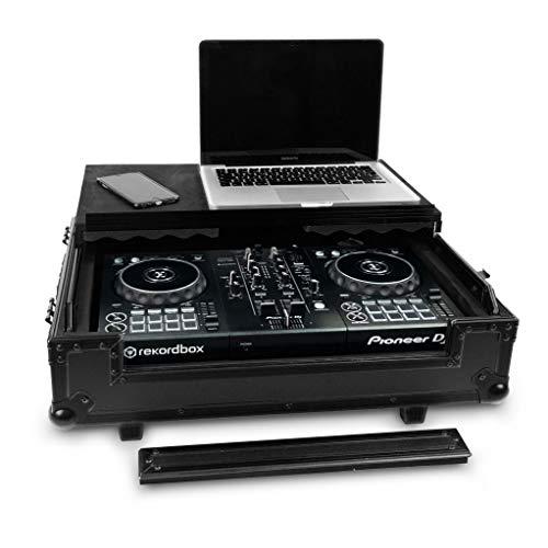 Audibax Flight Case | Maleta para Controladora DJ | Pioneer DDJ-400 | Controladoras DJ hasta 44 cm | Audibax PRO-DJ4 | Compacta, Segura y Cómoda | Especial para Viajes | Uso Profesional