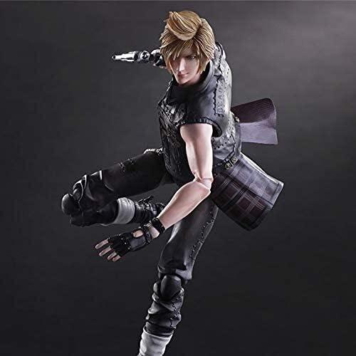 CFTGB Action Figur Final Fantasy 15 Prompto Argentum Anime Action Figure 25cm Sammeln Modell Charakter Statue Spielzeug Actionfiguren