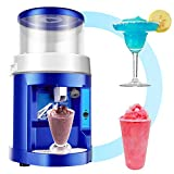 TGHY Electric Ice Crusher Shaver Snow Cone Maker Machine 120kg/hr Home and Commercial Use Slushies Maker for Bar Cafes and Fast-Food Stores,110V