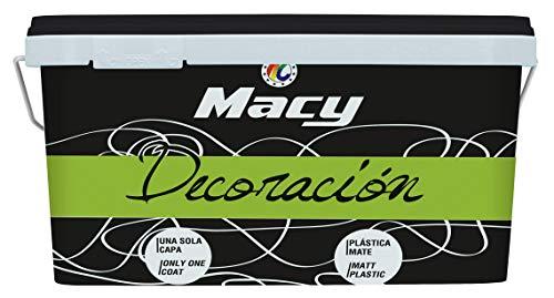 Macy - Macy pintura mate decoración 4 litros, color vison