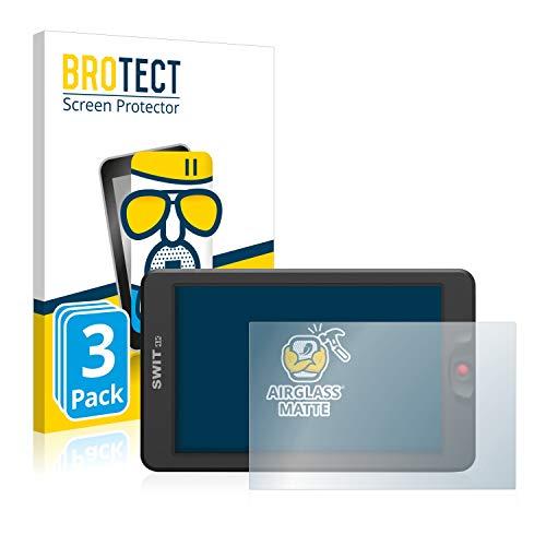 3X BROTECT AirGlass Matte Premium Glasfolie für Swit 3000 (extrahart, ultradünn, matt und entspiegelnd, Anti-Fingerprint, flexibel)