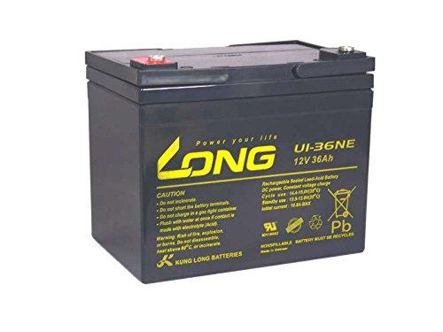 Akku Batterie Versorgungsbatterie Bootsmotor Schiff 12V 36Ah Blei Bleigel wie 38Ah 39Ah 40Ah 41Ah kompatibel