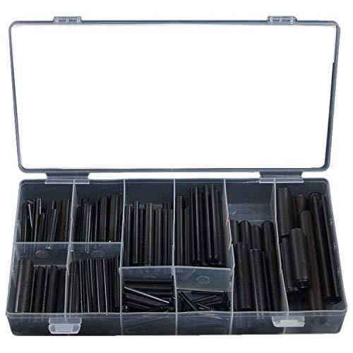 Craft-Equip 280 tlg. Spannhülsen Sortiment in einer praktischen Kunststoffbox
