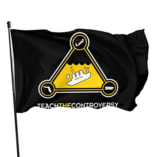 BHGYT Fashion Outdoor/Home Dekorative Flagge Bermuda Dreieck Lehren 100% Polyester Single Layer Flags 3 X 5