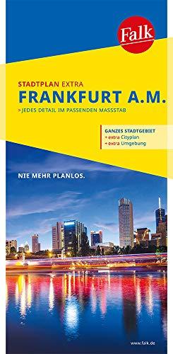 Falk Stadtplan Extra Standardfaltung Frankfurt am Main 1:20 000: mit Ortsteilen von Bad Soden a. Ts., Bad Vilbel, Eschborn, Kronberg (Falk Stadtplan Extra Standardfaltung - Deutschland)