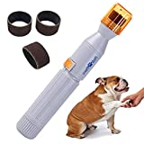 Dog Nail Grinder, Upgraded Version Professional Electric Pet Nail Grinder Trimmer Grooming Tools