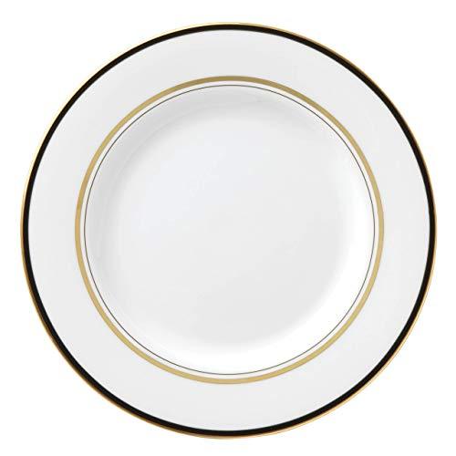 Kate Spade New York 871087 Library Lane - Plato para ensalada (porcelana), color negro