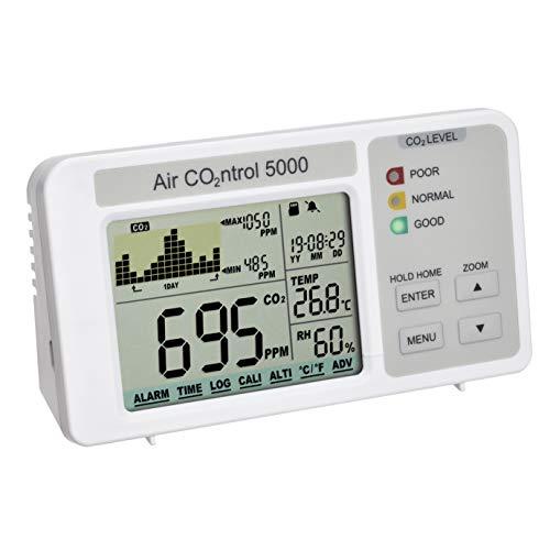 TFA Dostmann 31.5008.02 AIRCO2NTROL 5000 CO2-Messgerät mit Datenlogger