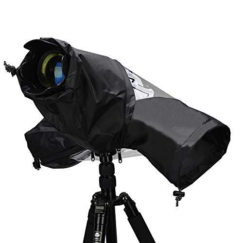 Kamera Regenschutzhülle, CADeN Wasserdicht Camera Rain Cover Schutz Kompatibel mit Canon Nikon Sony spiegelreflexkameras