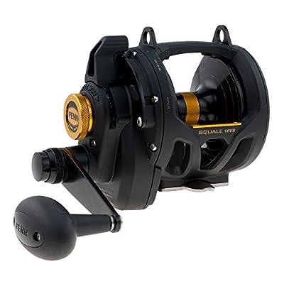 Penn Squall Lever Drag 2-Speed Trolling Fishing Reel
