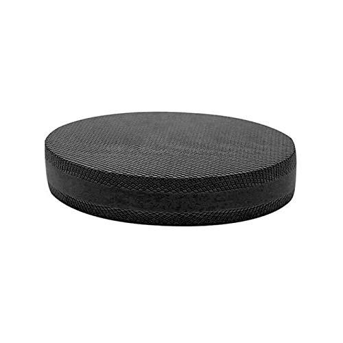 ALEOHALTER Ejercicio Balance Pad no deslizante Balance Yoga Cojín Recuperación de tobillo Home Yoga Mat Entrenamiento completo Fitness (negro)