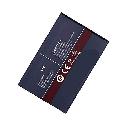 WXKJSHOP - Batteria di ricambio compatibile con Cubot X18 (non compatibile CUBOT X18 Plus), 3,8 V, 3200 mAh