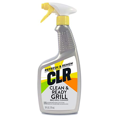 CLR Clean & Ready Grill, BBQ Grill Cleaner, 26 Ounce Spray Bottle (Packaging May Vary)