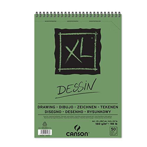 Canson 400039088 - Bloc de dibujo, A4, 21 x 29.7 cm