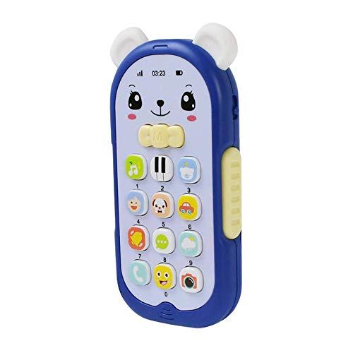 Generic Baby Phone Toys Pädagogisches Handy Toys Jungen Mädchen Lernen Geschenk Pretend - Blau
