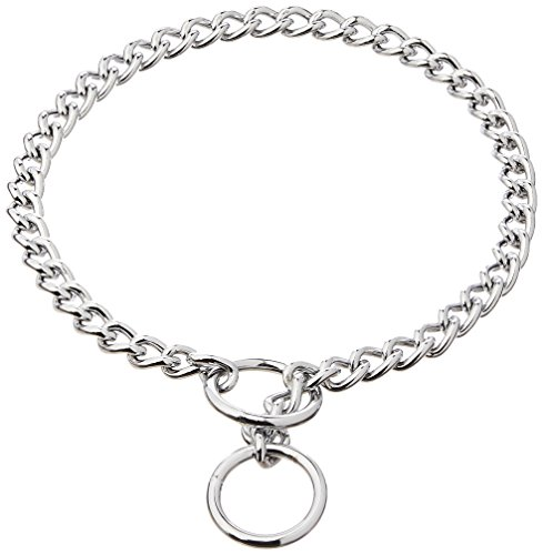 Coastal Pet Products DCP553020 20-Inch Titan Heavy Chain Dog Training Choke/Collar with 3mm Link, Chrome