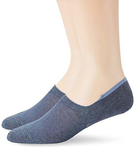 Calvin Klein Socks ECL172 Calzini Uomo, blue denim-2 H87 Taglia Produttore: 40/46(Pacco da 2)
