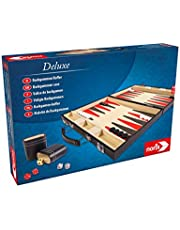 Noris 606101712 Deluxe - Backgammon en maletín