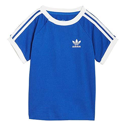 adidas GN8190 3STRIPES tee T-Shirt Unisex-Baby Team Royal Blue/White 2-3A