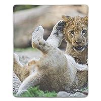 マウスパッド ライオン 滑り止め マウス用パット ゲーミング 耐久性 約(18cm X 22cm) マウス パッド