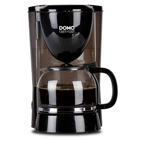 Domo DO472K Kaffeeautomat, Edelstahl, rostfrei, 1.5 liters