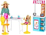 Barbie Ice Cream Cafe Playset with Barbie and Chelsea Dolls