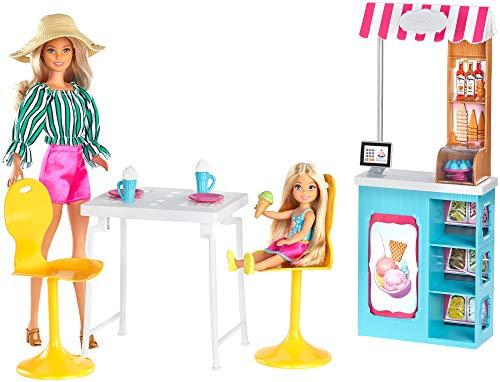 Barbie - Cafe Set Bambole e Gelateria, GBK87