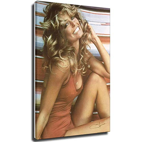 Poster Farrah Fawcett Poster 1976 Iconic Bathing Suit Poster 20×30inch(50×75cm) Unframe-style1