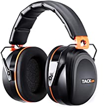 Noise Reduction Safety Ear Muffs, Tacklife [Reinforced] NRR 28dB Shooters Hearing Protection Ear Muffs, Adjustable Headband, Noise Cancelling Headphones for Kids and Adults - HNRE1