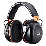 Best Ear Protections - Noise Reduction Safety Ear Muffs, Tacklife [Reinforced] NRR Review