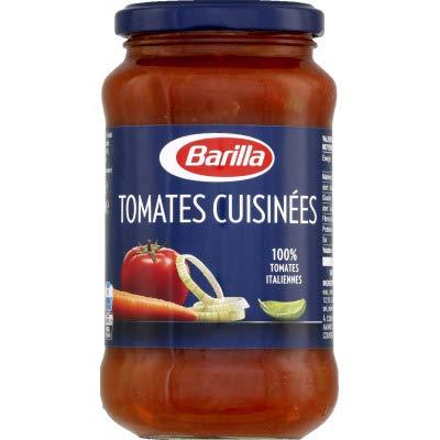 Barilla Sauce tomates cuisinées (tomates italiennes mûries au soleil) - Le bocal de 400g