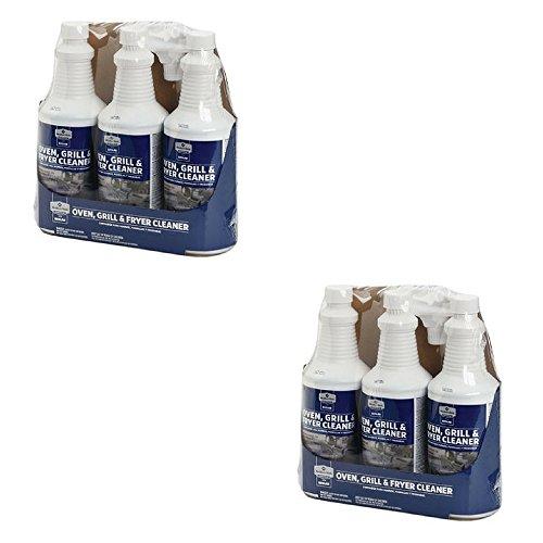 Member's Mark Oven, Grill & Fryer Cleaner - 3 bottles 32 oz each (2 Pack (6 bottles))